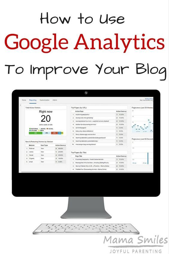 How to use Google Analytics to improve your blog Blog