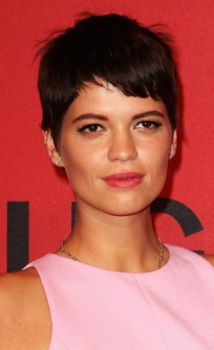 The pixie is one of the hottest hairstyles of the moment. See which cuts are most popular and which face shapes and hair textures work with a pixie.: Pixie Geldof Pixie Hair