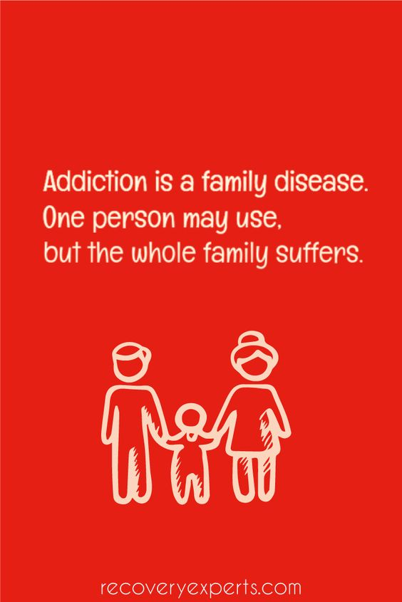 Quote on Addiction: Addiction is a family disease. One person may use, but the whole family suffers. | 'What Experts Say: Can Addiction Be Unlearned?' - https://recoveryexperts.com/rebuzz/roundups/what-experts-say-can-addiction-be-unlearned