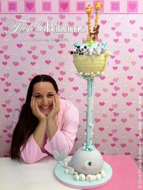 Fiorella Balzamo, cake designer