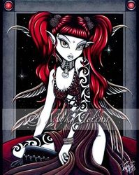 main gallery2 - Fairy & Fantasy Artist Myka Jelina. Official Online Gallery. Fantasy Art, Gothic Faery Art, Tribal & Steam-Punk Fairies. Faerie Tattoos. Acrylic Paintings, Art Prints.