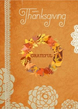 Thanksgiving = Gratitude Here is a great way to appreciate your clients  This is a real card (not an e-card). Send this card now.