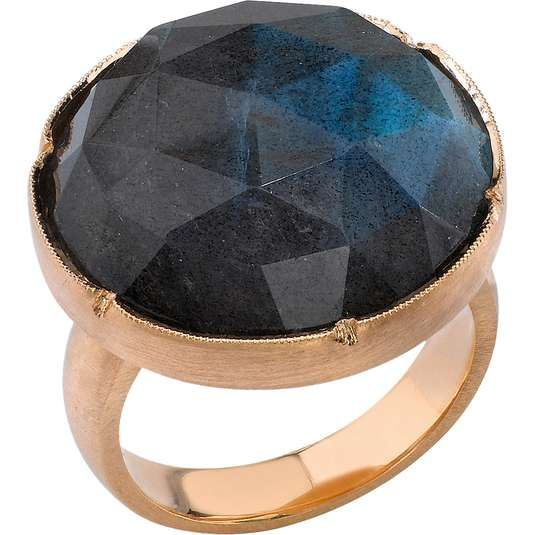 Love the Irene Neuwirth Rose Cut Labradorite Ring on Wantering.