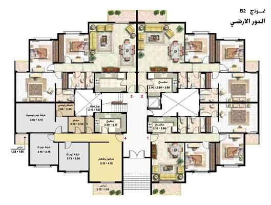 شقه 138 متر بالدور المميز الثاني بالمرحله العاشره قريبه من جميع الخدمات عقارات دريم هوم Architectural Floor Plans Architectural House Plans Architecture Plan