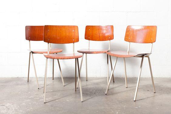 Friso Kramer Style School Chair