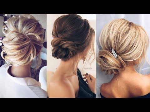 Elegant Wedding Updos For Long Hair 2018 Bridal Hairstyles Youtube Hair Styles Long Hair Styles Elegant Wedding Hair