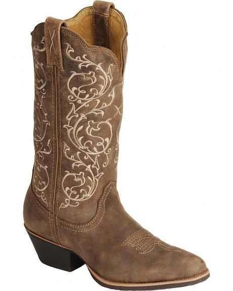 Twisted X Fancy Stitched Cowgirl Boots - Medium Toe | wedding ...