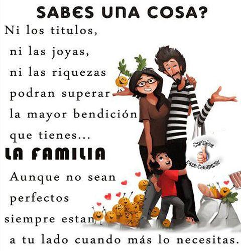 La Familia Siempre A Tu Lado Mensajes De Familia Familia