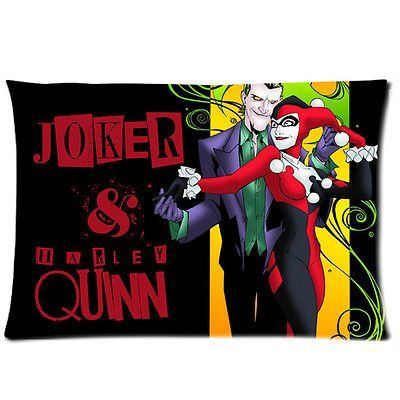 Harley quinn jokers and bed pillows on pinterest for Harley quinn bedroom designs