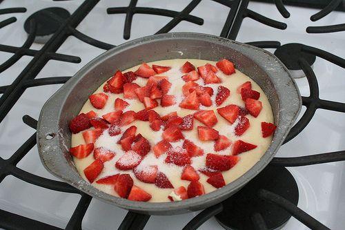 baked :: Strawberry Buttermilk Cake