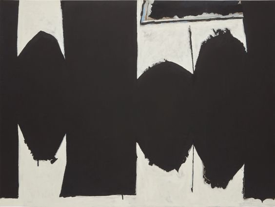"""At Five in the Afternoon"" by Robert Motherwell (1971)"