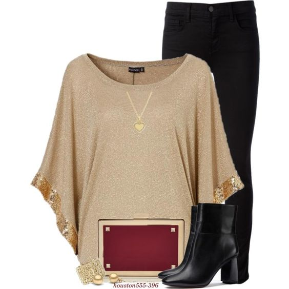 Date Night by houston555-396 on Polyvore featuring J Brand, Tory Burch, Valentino, Michael Kors, Chanel, women's clothing, women's fashion, women, female and woman
