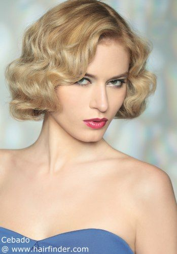 1930s Hairstyles: Elegant Waves for Women
