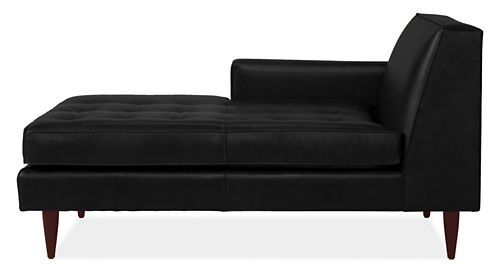 Reese Leather Chaise