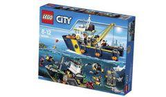 Gewinne mit SwissFamily und ein wenig Glück 3 x 1 @LEGO City Tiefsee-Expeditionsset für deine Kinder!