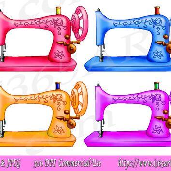 Resultado de imagem para girl sewing machine