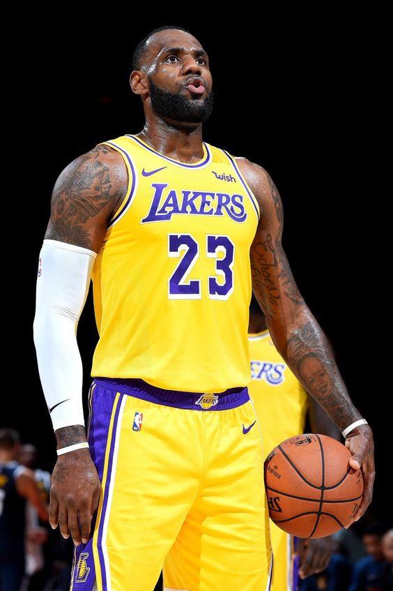Lebron con los Lakers