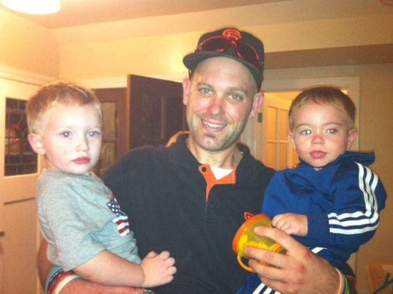 Me and my nephews Jax and Bradley.