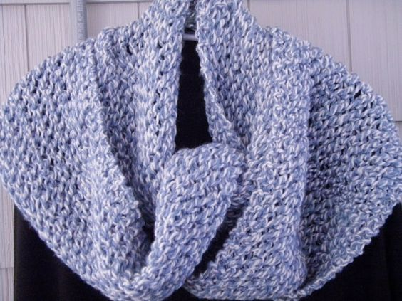 Hand Knit Wrap Blue Light Blue Blue And White Cream Lacey Knit Wrap Unique  Wrap Lacey Knit Shawl Unique Shawl Womens Knit Wrap Stole Fashion