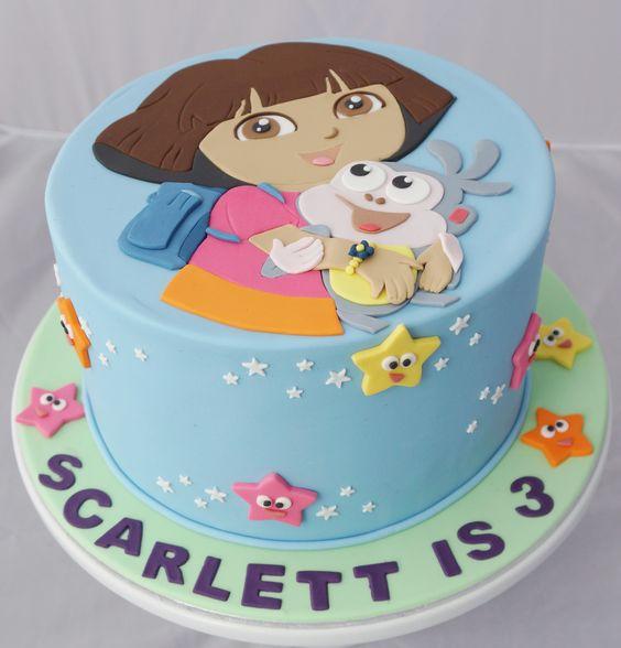Dora cake | Dora the explorer cakes and cupcakes ...