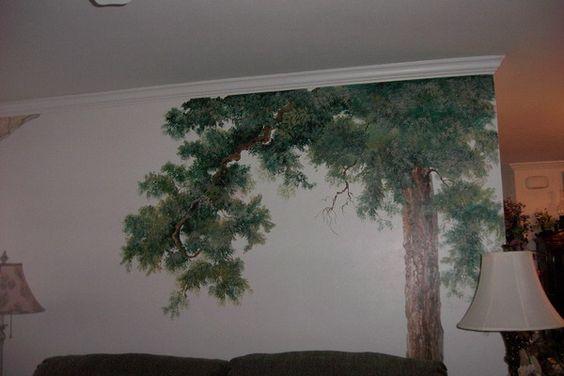 tree wall - Buscar con Google