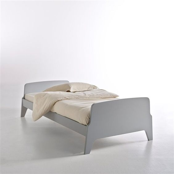 lit style r tro vintage 1 personne adil vintage et caf au lait. Black Bedroom Furniture Sets. Home Design Ideas
