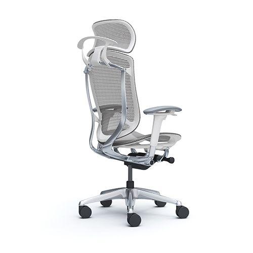 Contessa Seconda Okamura S Work Chair Chair Headrest Furniture Office Design Product Seating Okamura Salot Executive Furniture Mesh Chair Work Chair