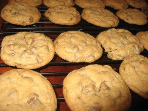 Jens Cookies add 1/4 extra cup of flour