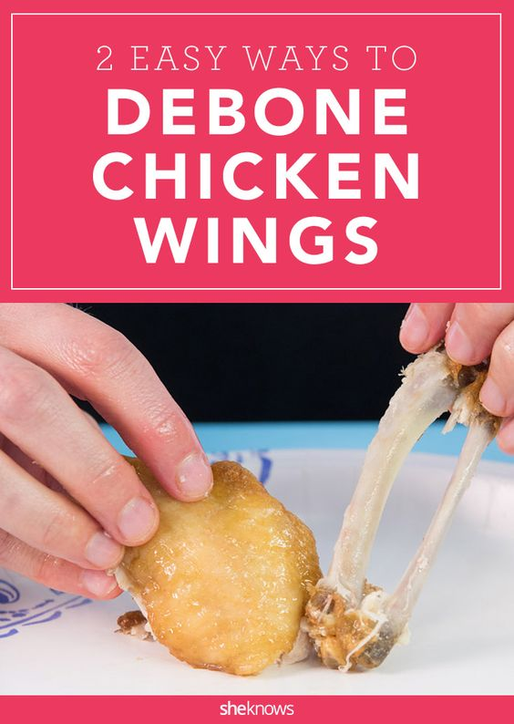 Eat boneless chicken wings one-handed with these easy hacks.