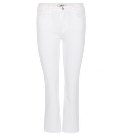 Cropped Flared Jeans Selena