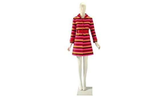 Part of Elizabeth Taylor's collection, an Emanuel Ungaro coat, circa 1967