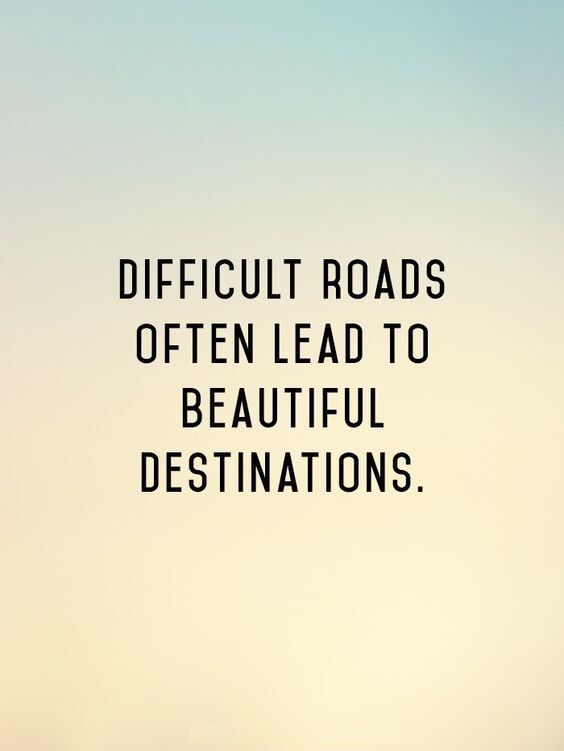 Beautiful roads often lead to beautiful destinations. Hold on..: