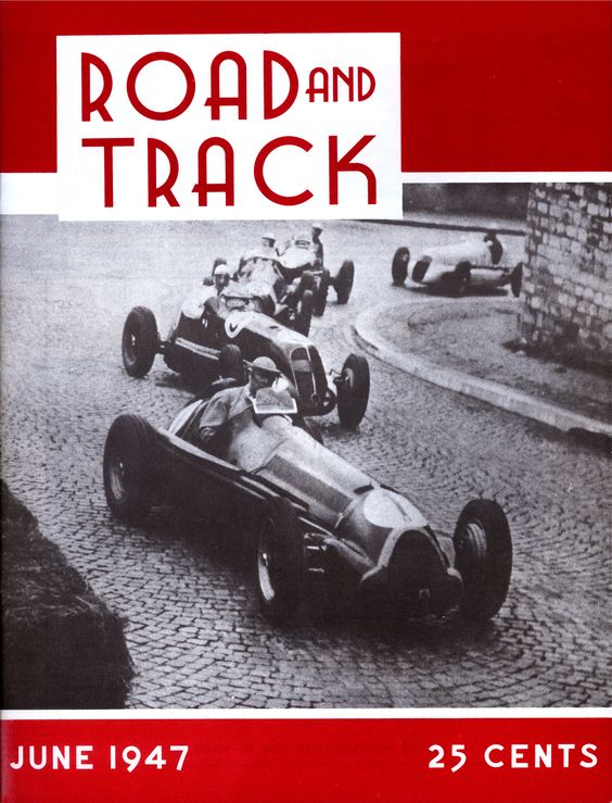 First Cover - Road & Track was first published in June 1947 making it the longest running auto enthusiast magazine in America. In that first issue, editors Wilfred H. Brehaut, Jr. and Joseph S. Fennessy dedicated the magazine to the automotive enthusiast and promised each issue would be divided into three sections: American cars, foreign cars and racing. Road & Track also introduced the first road test in that issue putting a new 1947 Ford through its paces. That tradition carries on today…