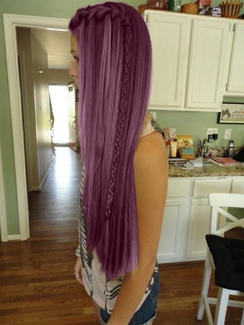 Whee, dyed hair!