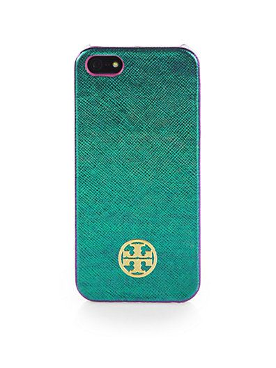... Tory Burch tory burch robinson hologram leather iphone 5 case