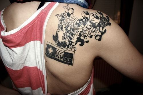 Nintendo | 39 Tattoos That Are Basically Works Of Art