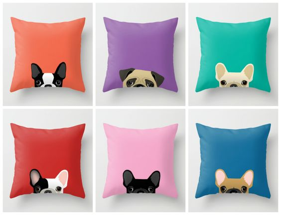 Dog pillows, Cute dogs and My sims on Pinterest