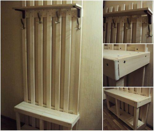 Идеи для прихожей: необычные вешалки | Мебель из деревянных паллет, Проект дома мечты, Дом