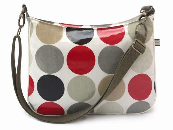 The Small Red Spot Across The Body Handbag by Sophia & Matt