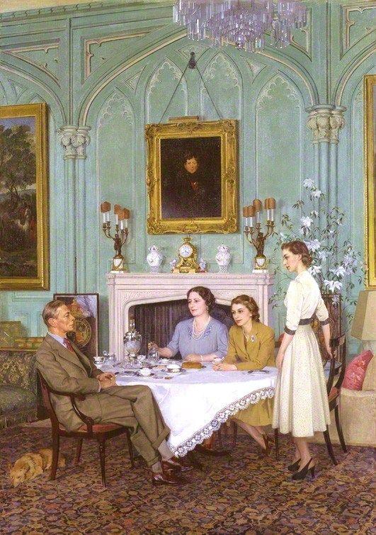 English royals tea: