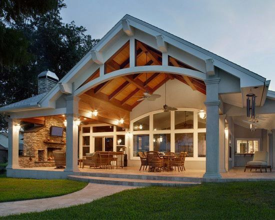 Top 60 Patio Roof Ideas Covered Shelter Designs Covered Patio Design House Exterior Patio Design