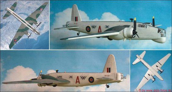 "Vickers GR. ""Wellington"" Mk.XIV Patrouillen-Bomber (Matchbox 402) 1:72"