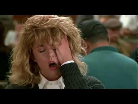 "Meg Ryan's fake orgasm from ""When Harry Met Sally"""