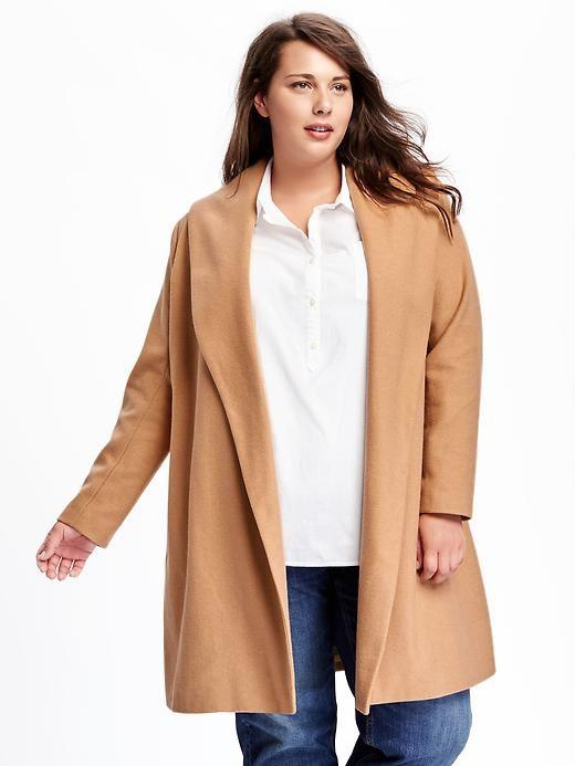 old navy plus size coats - Siteze