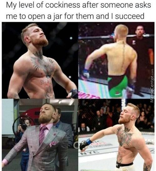 Conor Mcgregor Memes Funny Pictures With Captions Conor Mcgregor Funny Funny Pictures