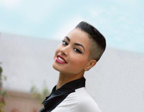 women with flat top haircuts short hairstyle 2013