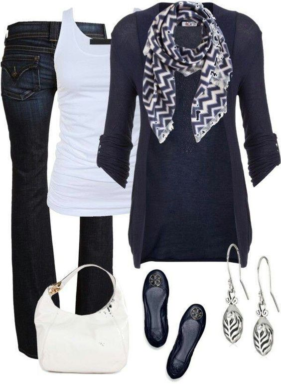 A cute mix to try out for a going out with friends or casual Friday at work.