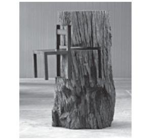 LEIRNER, N. Tronco com cadeira (detalhe), 1964. Disponível em…