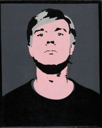 Self-Portrait Andy Warhol, 1964