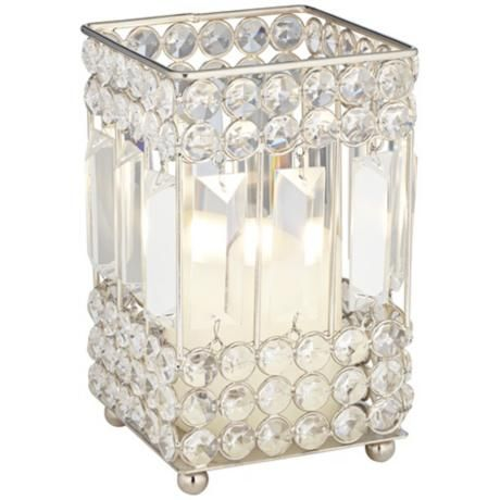 Cristalis Prism Small Crystal Candleholder - #2W607 | LampsPlus.com